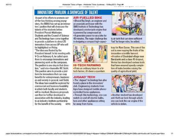 Hindustan Times e-Paper - Hindustan Times (Lucknow) - 10 May 2013 - Page #41